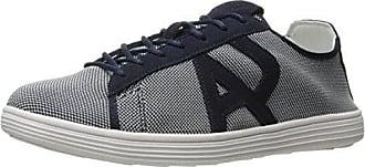 Armani Mens Textile Sneaker Fashion, Blue, 44 EU/11 M US