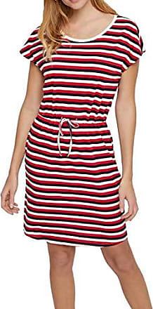 Only Damen Etuikleid Jerseykleid Business Kleid Damenkleid Kurz Mini 3//4 Ärmel