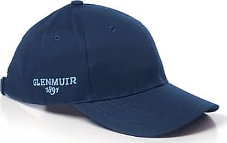 Glenmuir Mens Structured Performance Golf Cap Navy One Size
