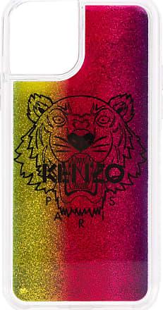 Kenzo Capa para iPhone 11 Pro com estampa de logo - Rosa