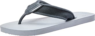 Havaianas Mens Urban Basic II Flip Flops, ICE Grey/New Graphite, 10/11 UK 45/46 EU