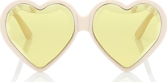 Gucci Heart-frame acetate sunglasses