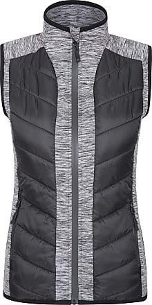 Mountain Warehouse Get Going Womens Padded Gilet - Water Resistant Ladies Body Warmer, Insulated, Warm & Cosy Gilet Vest - Ideal for Walking, Travelling & Hiking Black 2