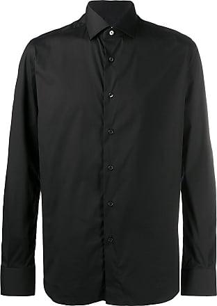 Xacus slim-fit shirt - Black