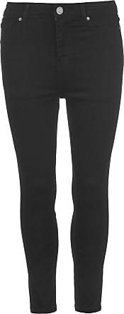Firetrap Womens Skinny Jeans Pants Trousers Bottoms Zip Fit Stretch Denim Black 14 R