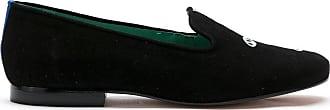 Blue Bird Shoes Loafer Artsyside em camurça - Preto