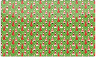 KESS InHouse Julie HamiltonJuniper Christmas Trees Artistic Aluminum Magnet, 2 by 3, Multicolor