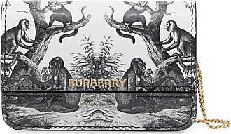 Burberry Porta-cartões com estampa de macaco - Preto
