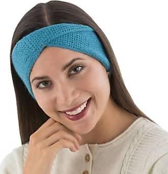 Novica 100% alpaca headband, Blue Twist