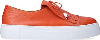 Truman's Slip-On 8940 calfskin Fringe orange