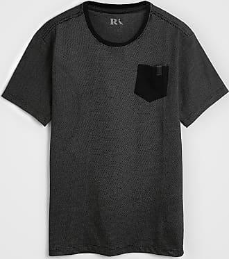 Reserva Mini Camiseta Reserva Mini Infantil Bolso Preto/Branco