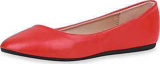 Scarpe Vita Women Classic Ballerinas Tread Sole 188404 Red UK 5.5 EU 39