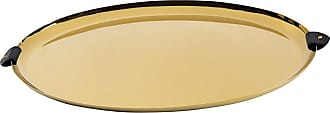 Ralph Lauren Home Wyatt Oval Platter - Black/Gold