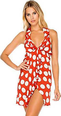 Luli Fama Womens Swimwear, -ole red, SML