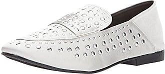Qupid Womens MOBY-21 Mule, Silver Grey, 7 M US