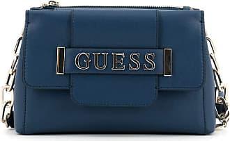 Guess Womens Bandouilere Bag Kerrigan Society Crossbody Vg744214 Dark Blue