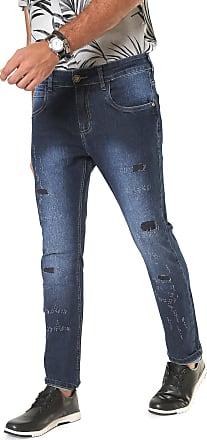 Handbook Calça Jeans Handbook Reta Livio Azul