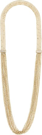 Lanvin long chain and fringe necklace - Metallic