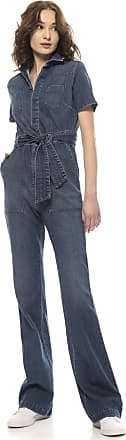 Re-hash Tuta intera denim con cintura