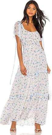 LoveShackFancy Jessie Dress in White