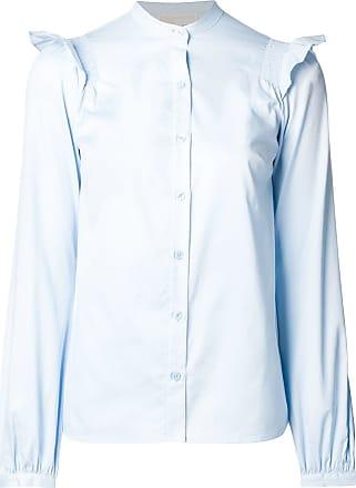 47e9298ad Michael Michael Kors Camiseta com franzido nas mangas - Azul