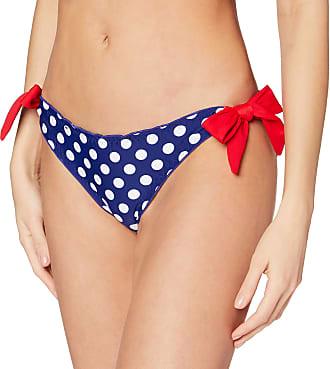 Pour Moi? Womens Starboard Tie Bikini Bottoms, Blue (Navy/Red), 14