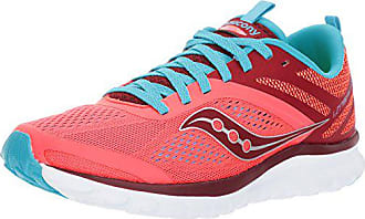 Saucony Womens Miles Sneaker,Coral Blue,11 Medium US