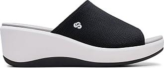Clarks Womens Sandal Black Clarks Step Cali Bay Size 9.5