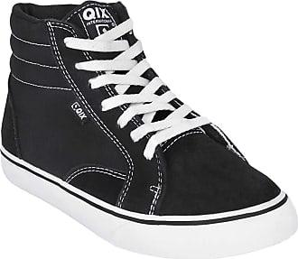 Qix Tênis Qix Dt Cano Médio Masculino - Branco+preto - 40
