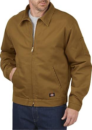 Dickies LJ539 Mens Canvas Jacket, Medium, Brown Duck