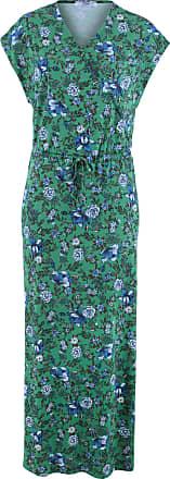 38beaa3bb919 Bonprix Dam Maxiklänning i grön vingärmar - bpc collection