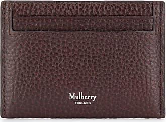 Mulberry Porta-cartões com logo - Marrom