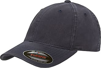 Yupoong Mens Low-Profile Unstructured Fitted Dad Cap Hat, Navy, X-Large