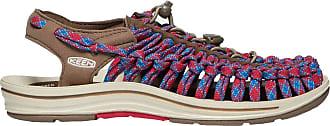 Keen Uneek 8mm Flat Womens Sandals UK 3 Walnut Crimson