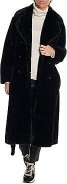 HUGO BOSS Murma Faux Fur Coat
