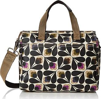 Orla Kiely Womens Matt Laminated Sycamore Seed Small Zip Messenger Messenger Bag Multicolour (Multi)