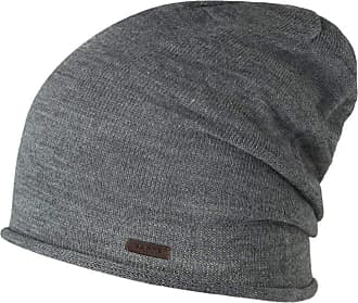 Barts Mens James Beanie Earmuffs, Grey (Dark Heather 0019), One (Size: UNI)