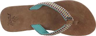 Reef Womens Gypsylove Aqua flip flop R1511AQU 5 UK