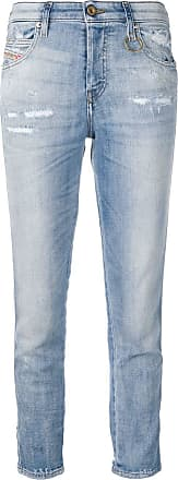 Diesel Calça jeans slim Babhila - Azul