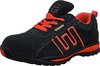 Groundwork GR86 New Black/RED Suede UK 10