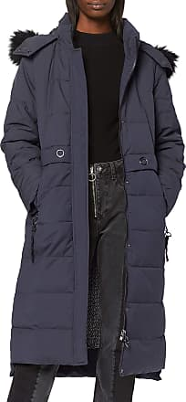EDC by Esprit Womens 099CC1G030 Coat, Blue (Navy 400), XXL