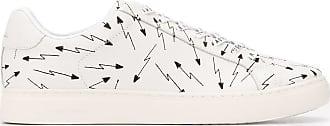 Paul Smith Tênis cano baixo com estampa de setas - Branco