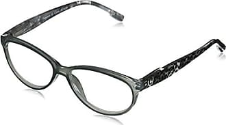 Peepers Womens Untamed 2340175 Cateye Reading Glasses, Gray, 1.75