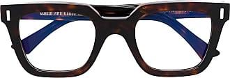 Cutler and Gross Armação de óculos quadrada - Marrom