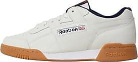 Reebok Reebok laced trainers. These trainers define classic style with a soft and simple leather upper. An EVA midsole and rubber outsole bring back familiar