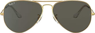 Ray-Ban Aviator RB 3025 Unisex Sunglasses NULL, NULL - Gold - 58 mm