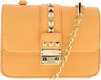 5a59f9d464 Bcbgmaxazria BCBG Paris Womens Caviar Faux Leather Mini Crossbody Handbag