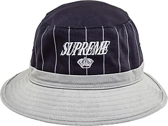 SUPREME Pinstripe Crusher Hat