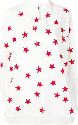 8pm star print shirt - White