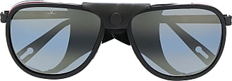 Vuarnet Óculos de sol aviador Glacier XL - Preto